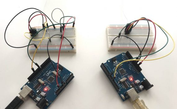 SYN115 and SYN480R both connected to Arduino Uno