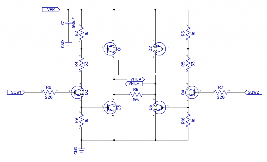 H-Bridge with BJT transistors